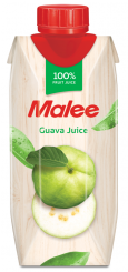 Malee, Guava Juice, сок гуавы 100%, 0,33 л