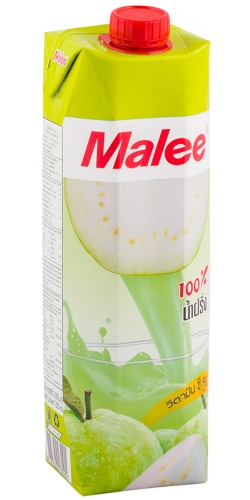 Malee, Guava Juice, сок гуавы 100%, 1 л