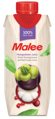 Malee Mangosteen with Pomegranate & Red Grape Juice, 0,33 л