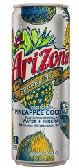 Arizona Sparkling Pineapple Coconut 0,355 л Ж/Б