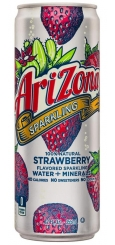 Arizona Sparkling Strawberry 0,355 л Ж/Б