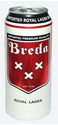 Breda Royal Lager, 0,5 л ЖБ