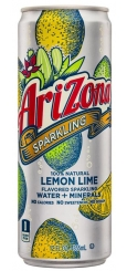 Arizona Sparkling Lemon Lime 0,355л Ж/Б