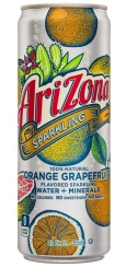 Arizona Sparkling Orange Grapefruit 0,355л Ж/Б