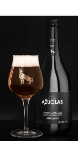 Azuolas, Whiskey Barrel Aged Beer