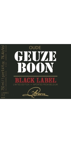 Boon Oude Geuze Black Label