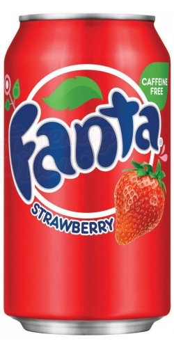 Fanta Strawberry, Ж/Б 0,355 л