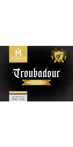 The Musketeers, Troubadour, Imperial Stout