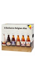 Подарочный набор 6 Exclusive Belgian Ales gift pack