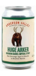 Anderson Valley, Huge Arker Bourbon Barrel Imperial Stout 0,355 л ЖБ