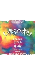 Panzer Акварель, Azacca Citra Lupulin Powder DDH IPA, 0,33 л ЖБ