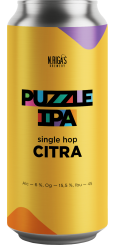 New Riga's Puzzle IPA, Single Hop Citra 0,45 л ЖБ