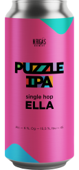 New Riga's Puzzle IPA, Single Hop Ella 0,45 л ЖБ