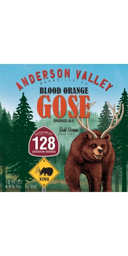 Anderson Valley, Blood Orange Gose, кега 30 л