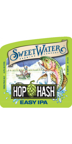 SweetWater, Hop Hash Easy IPA Ж/Б 0,355 л