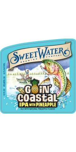 SweetWater, Goin' Coastal, IPA with PINEAPPLE