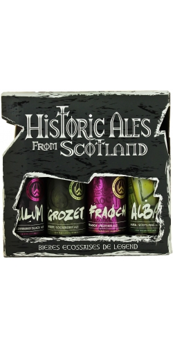 Подарочный набор Williams, Historic Ales from Scotland gift pack