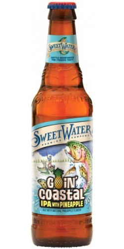 SweetWater, Goin' Coastal, IPA with PINEAPPLE 0,355 л